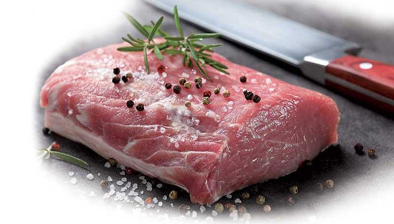 carne al naturale con pepe